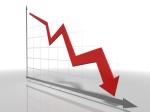 Line Chart Falling