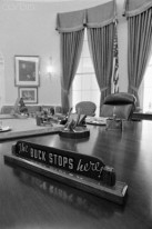 Harry Truman's The Buck Stops Here Sign
