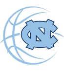 UNC Basketball logo 4