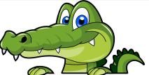 aligator-clip-art