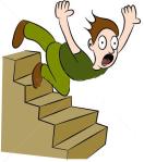 man-falling