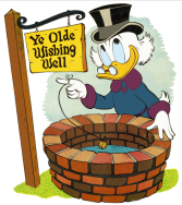 donald-duck-wishing-well