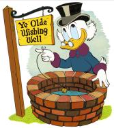 donald-duck-wishing-well