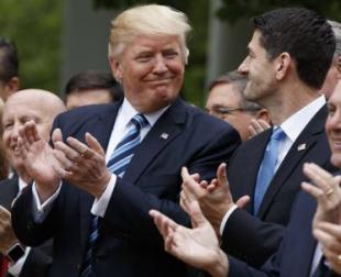 Trumpcare Rose Garden