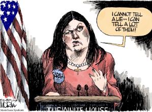 Sarah Huckabee Cartoon