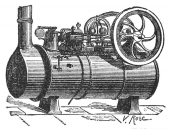 Steam Engine Old Rendering